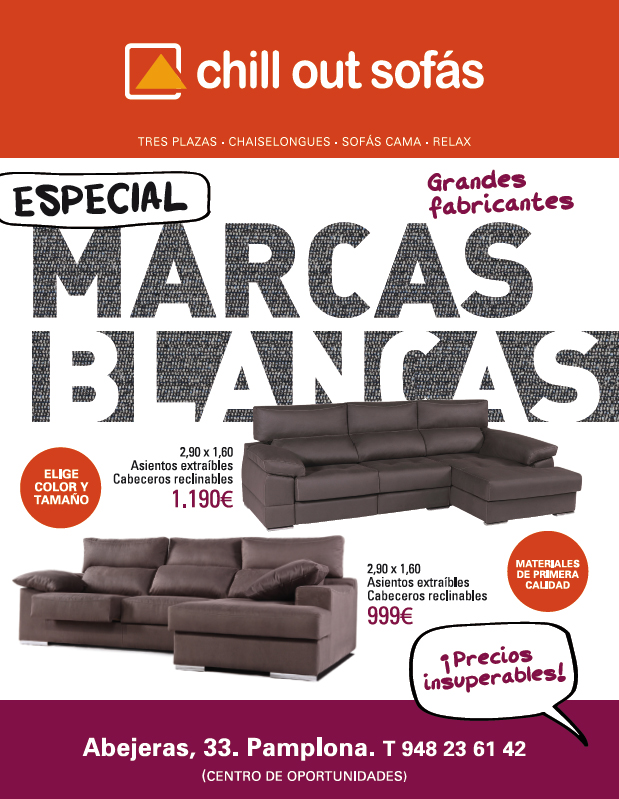 CHILL OUT MARCAS BLANCAS